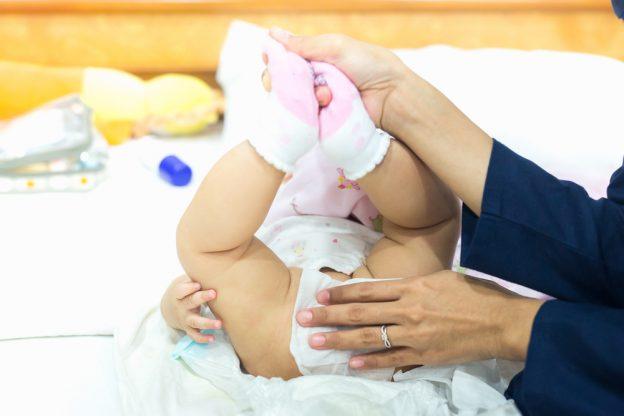 Woher kommt Durchfall bei Babys