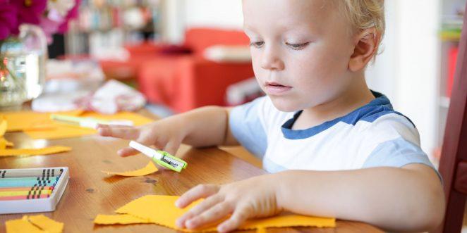 einfache bastelideen für kleinkinder