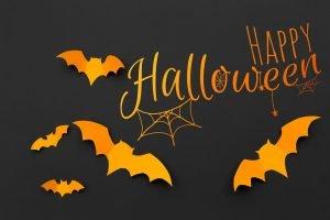 Einladungskarte zu Halloween