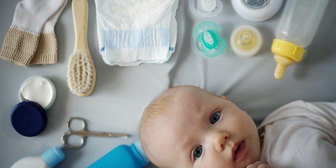 erstlingsausstattung fuer ein baby