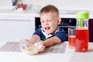 Kind will nicht essen