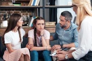 familientherapeutische sitzung