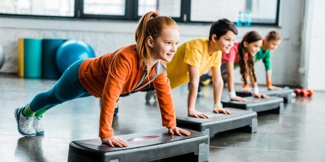 fitness fuer kinder