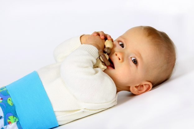 Die Fontanelle bei Babys