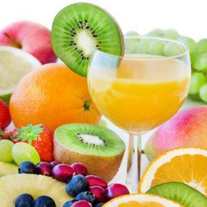 Fructosehaltige Lebensmittel und Obst