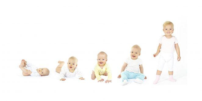 Frühkindliche Entwicklung vom Baby zum Kleinkind