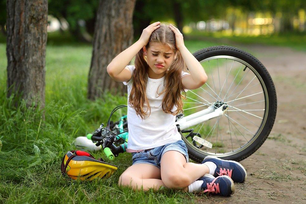 Gehirnerschütterung beim Kind nach Sturz