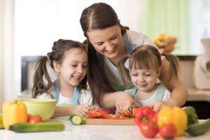 gesunde Ernährung bei Kindern