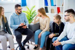 gemeinsame familientherapie