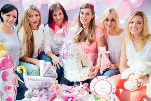 Geschenke für die Babyparty