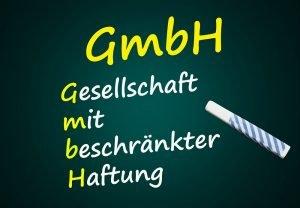 Erklärung der Abkürzung GmbH