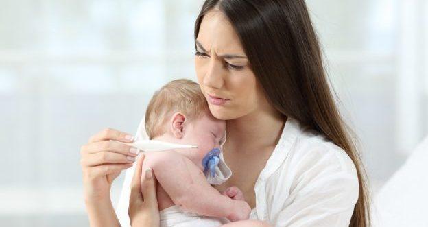 Tips wenn ihr Baby die Grippe hat