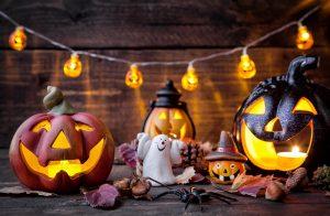 freundliche Halloween-Deko