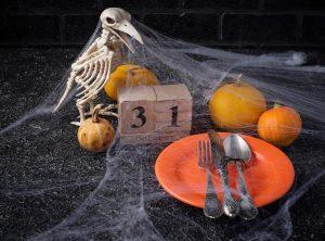 schaurige Halloweendeko