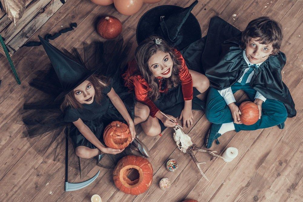 Halloweenkostüm Kinder selber machen