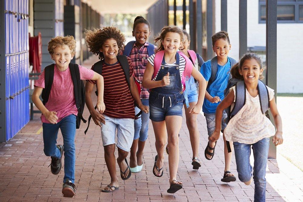 kinder in der jenaplan schule