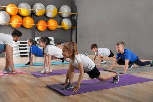 fitnesstraining fuer kinder