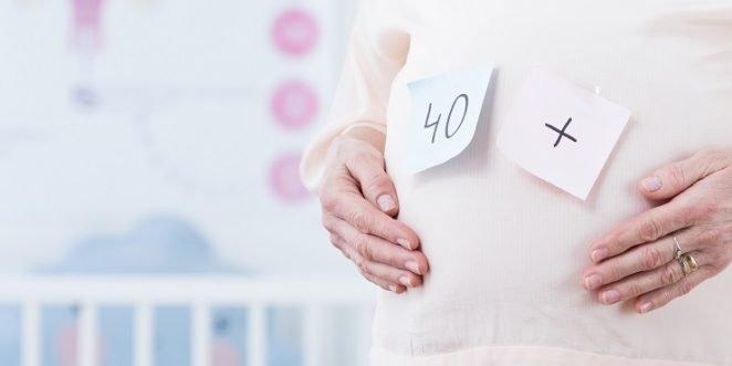 Frau bekommt Kinder mit 40