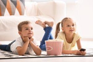 kinder schauen TV
