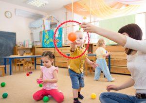 Konzentration bei Kindern wird mit Spielen gefördert