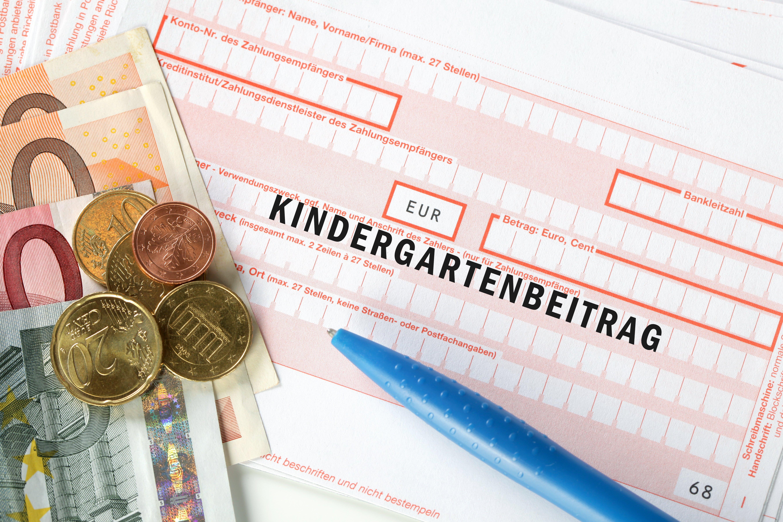 Kontoauszug für Zahlung Kindergartenbeitrag