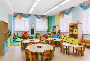 Raum im Kindergarten
