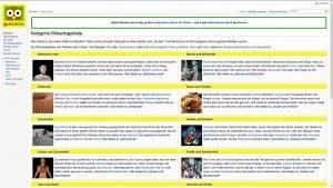 Screenshot der Website Klexikon