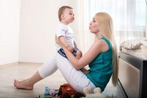 Mutter Kind Entwicklung