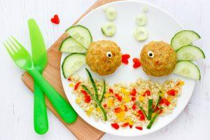 ansprechendes Essen für Kleinkinder