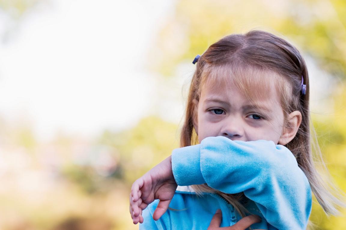 Kind mit pneumonie