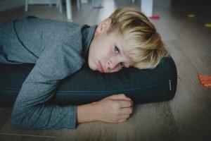 Kind ist müde