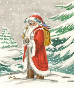 gemalter Nikolaus