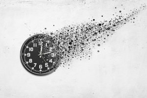 Uhr verschwindet