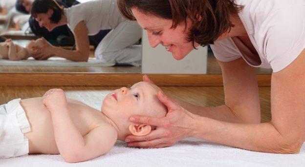 Osteopathie für ihr Baby