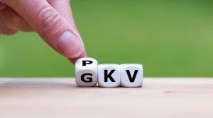 Würfel zwischen PKV und GKV