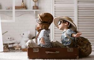 vorbereitung auf flug mit kindern