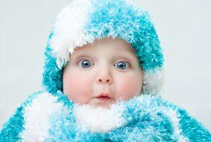 Baby Glasige Augen
