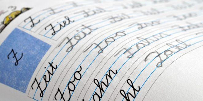 schreibschrift grundschule