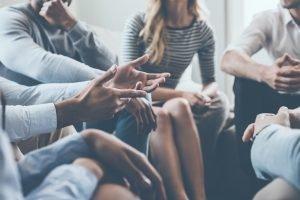 Gespräche in einer Selbsthilfegruppe