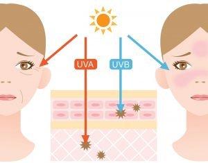 UVA- und UVB-Strahlen Übersicht