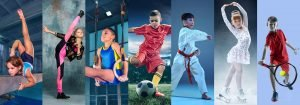 verschiedene Sportarten für Kinder