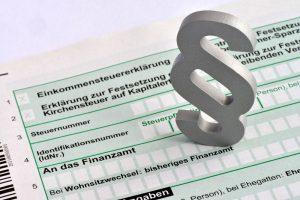 Steuererklärung an das Finanzamt