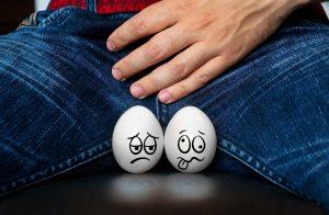 mann mit eiern