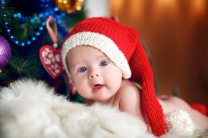 baby an weihnachten