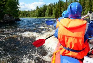 wildwassertour mit kindern