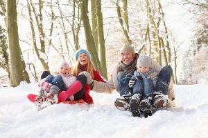 weihnachtsspiele im schnee