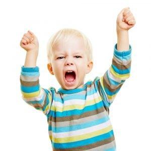 Wütendes Kind sozial emotionale Entwicklung