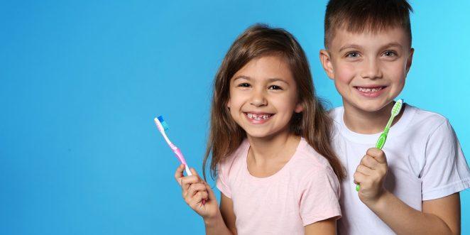 Zähne putzen Kinder